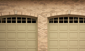 $99 Garage Door Tune-Up with Quiet Roller Replacement or Keyless Entry Pad
