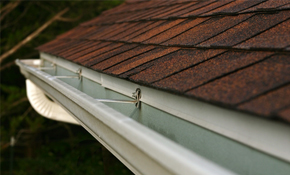 $295 for 50 Feet of High-Capacity, 6-Inch Gutters or Downspouts
