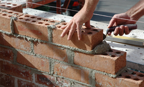 ONLY $100 for 3 hours of Masonry Repair!