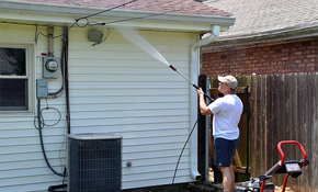 $129 Home Exterior Pressure-Washing up to 2,000 Square Feet