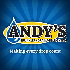Andys Sprinkler Drainage & Lighting logo