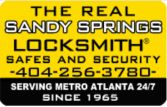 Sandy Springs Locksmith logo