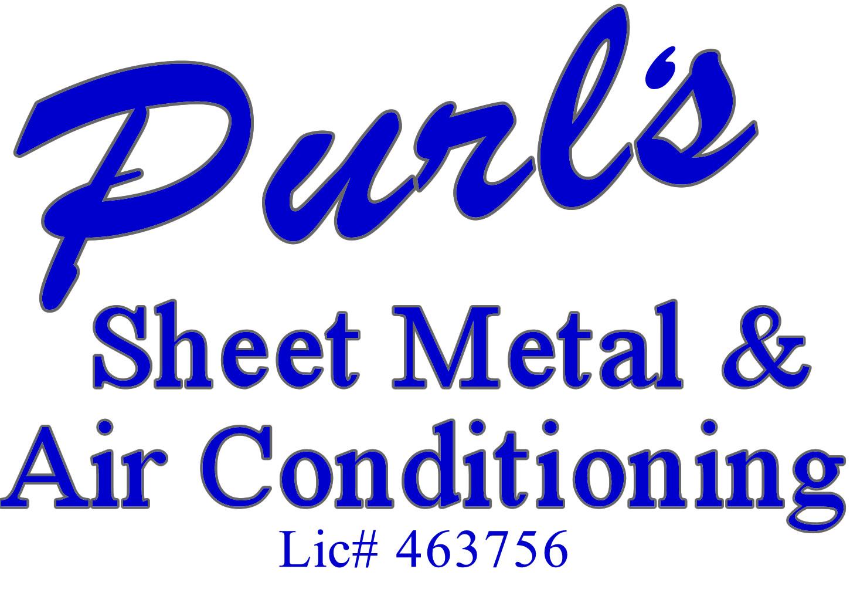 Purl's Sheet Metal & Air Conditioning logo