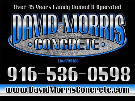 David Morris Concrete Construction logo