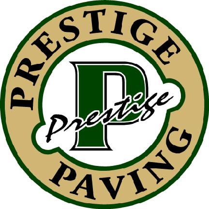 PRESTIGE PAVING logo