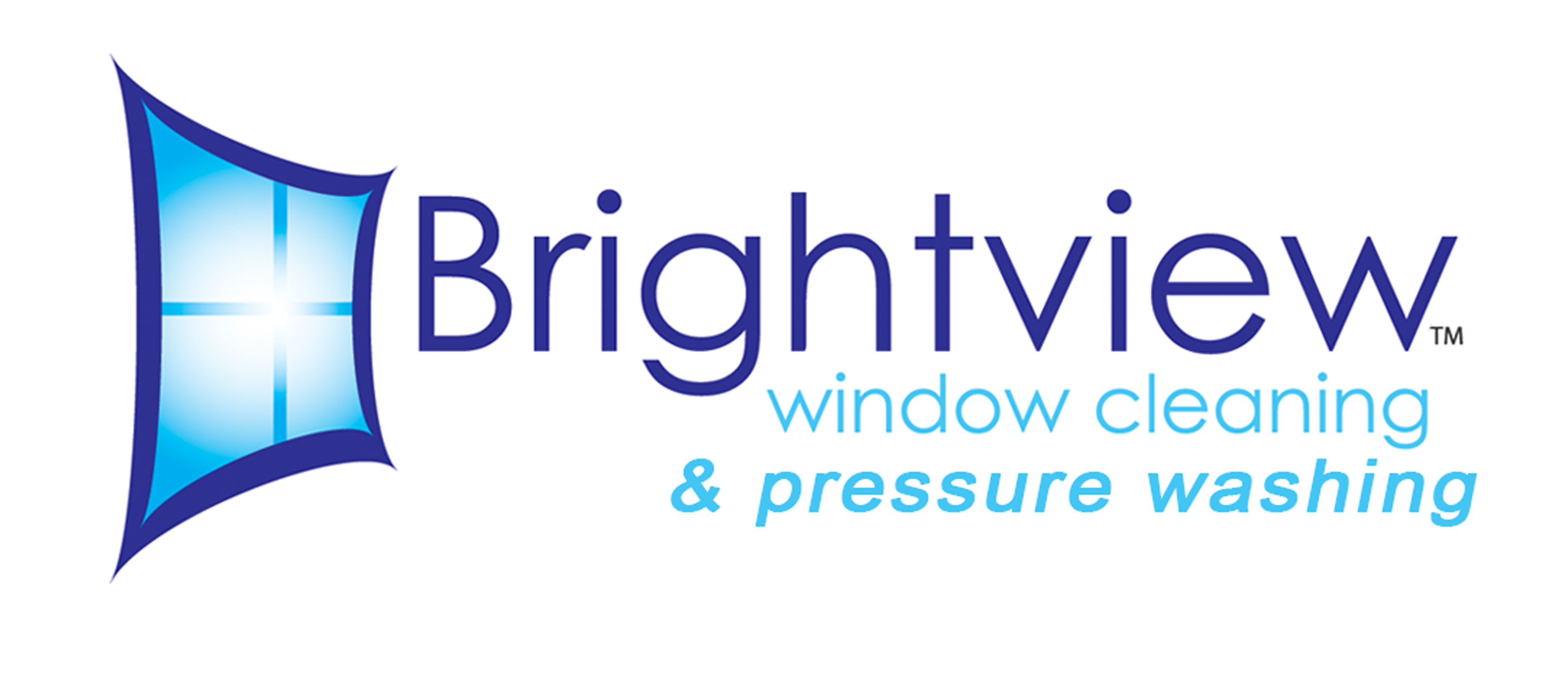 Brightview Window Cleaning and Pressure Washing logo