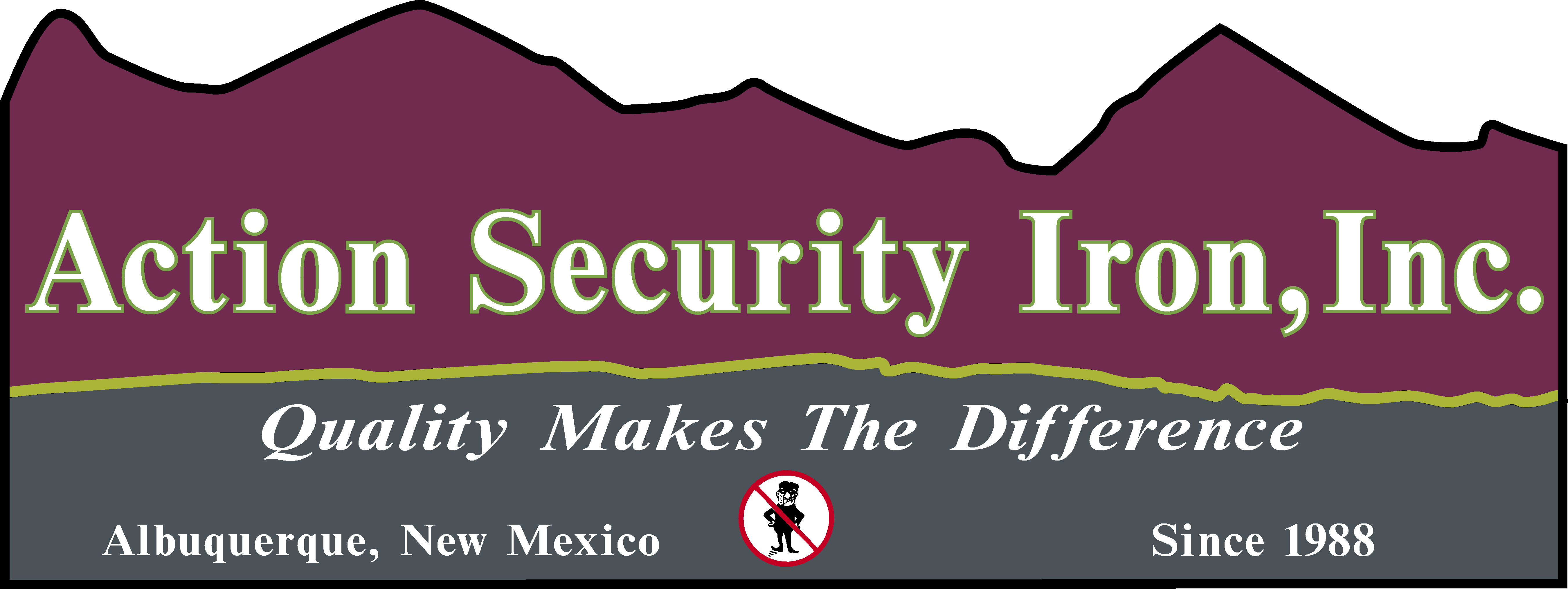 ACTION SECURITY IRON INC logo
