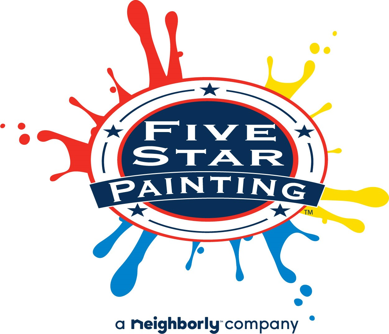 Five Star Painting of Dallas logo