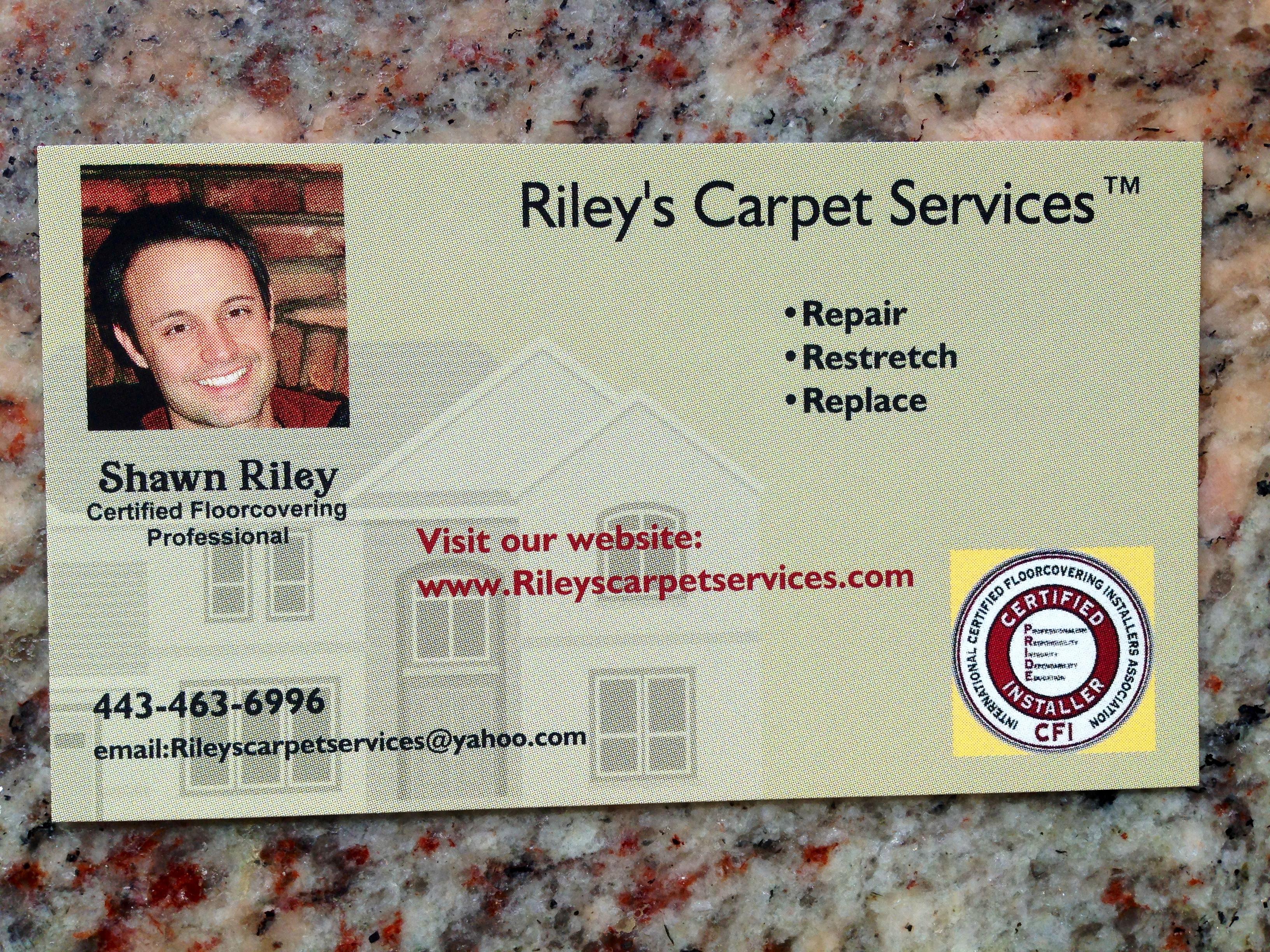 Riley's Carpet Services logo
