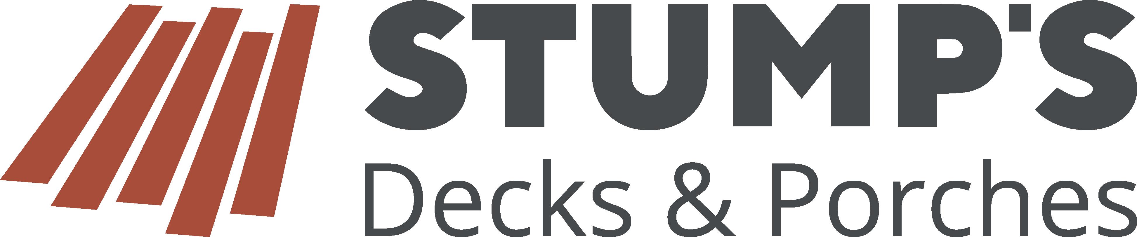 Stump's Decks and Porches logo