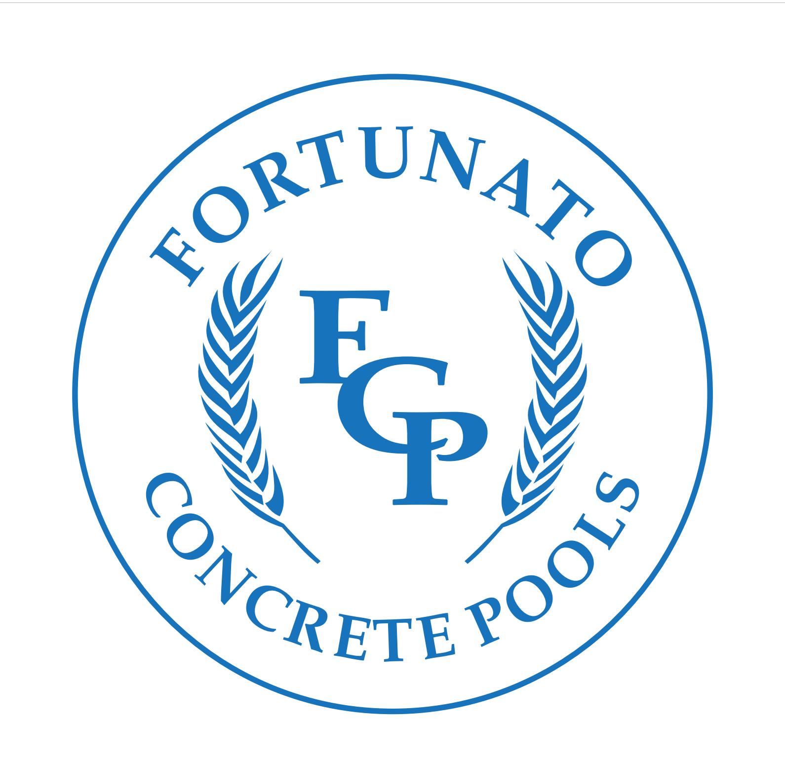 FORTUNATO CONCRETE POOLS logo