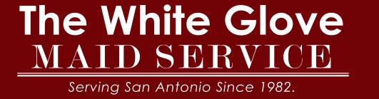 A White Glove Maid Service logo