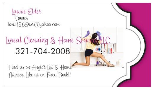 Loreal Enterprises LLC Loreal Cleaning & Home Serv logo