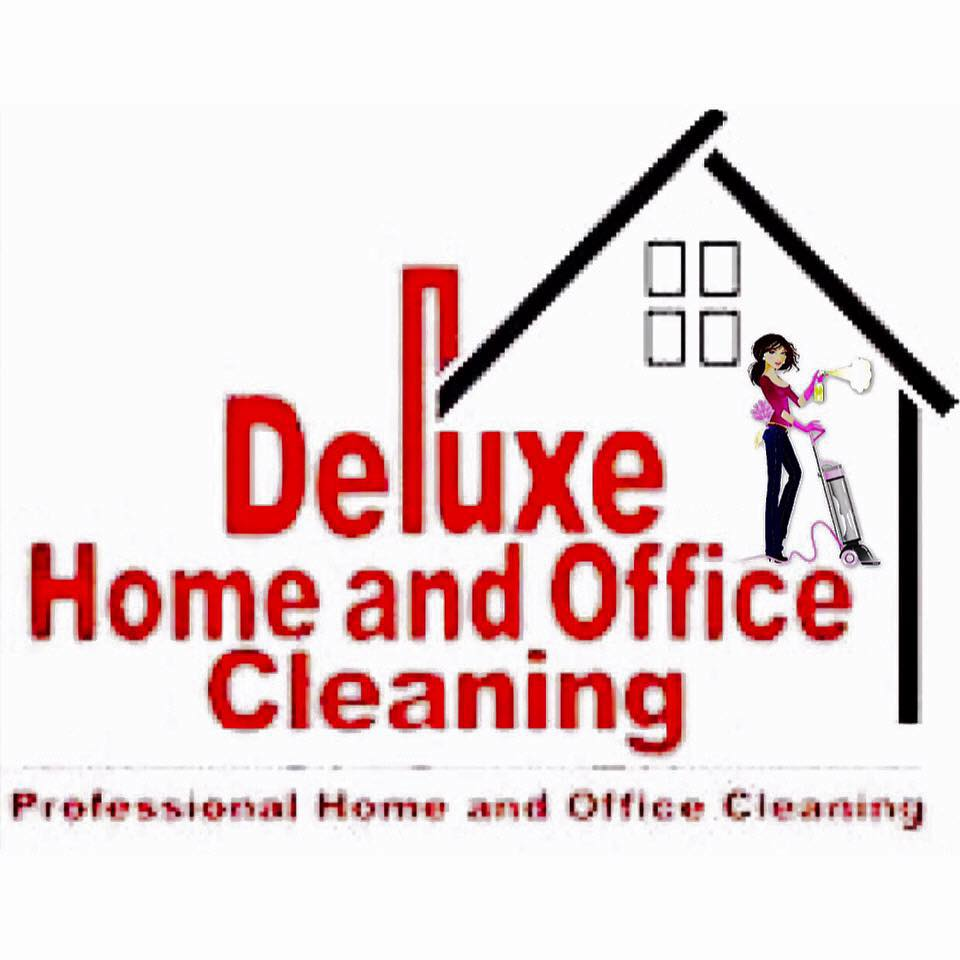 Deluxe Home and Office Cleaning logo