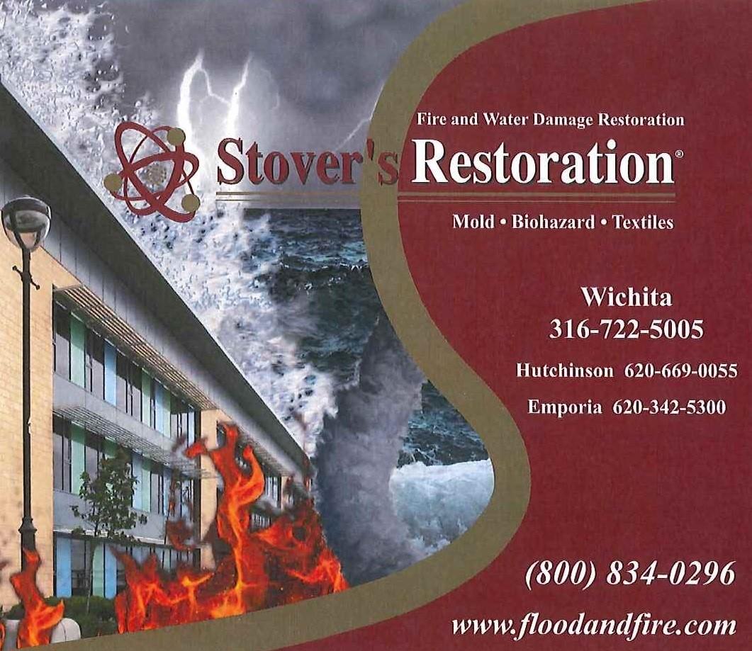 Stover's Restoration logo