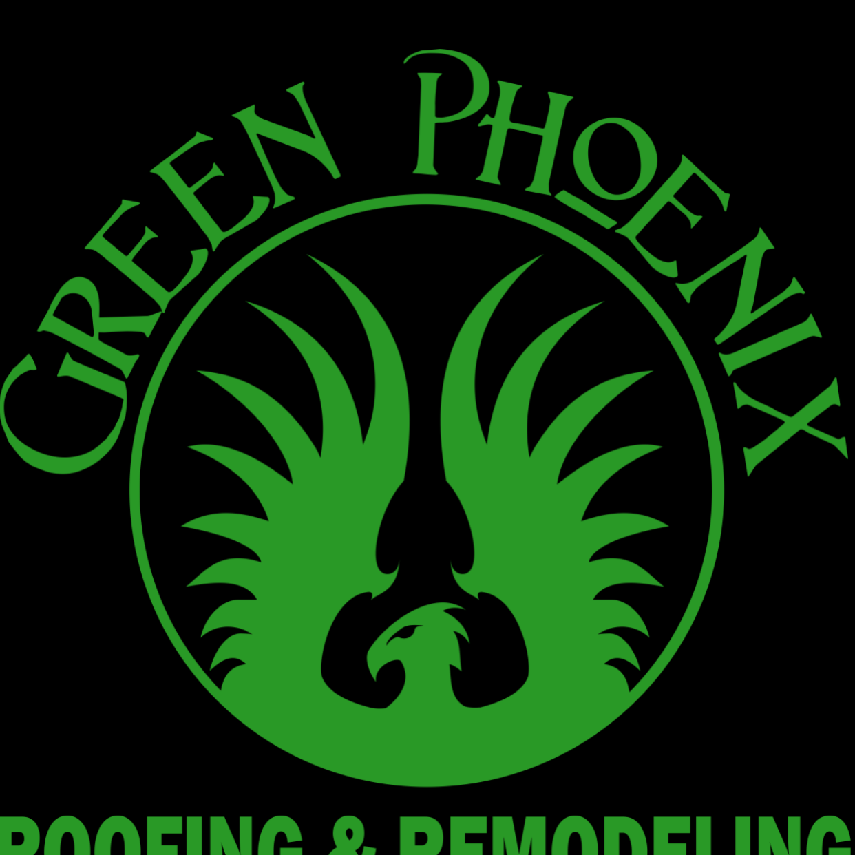 Green Phoenix Roofing & Remodeling logo