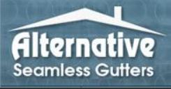 Alternative Seamless Gutters Co logo