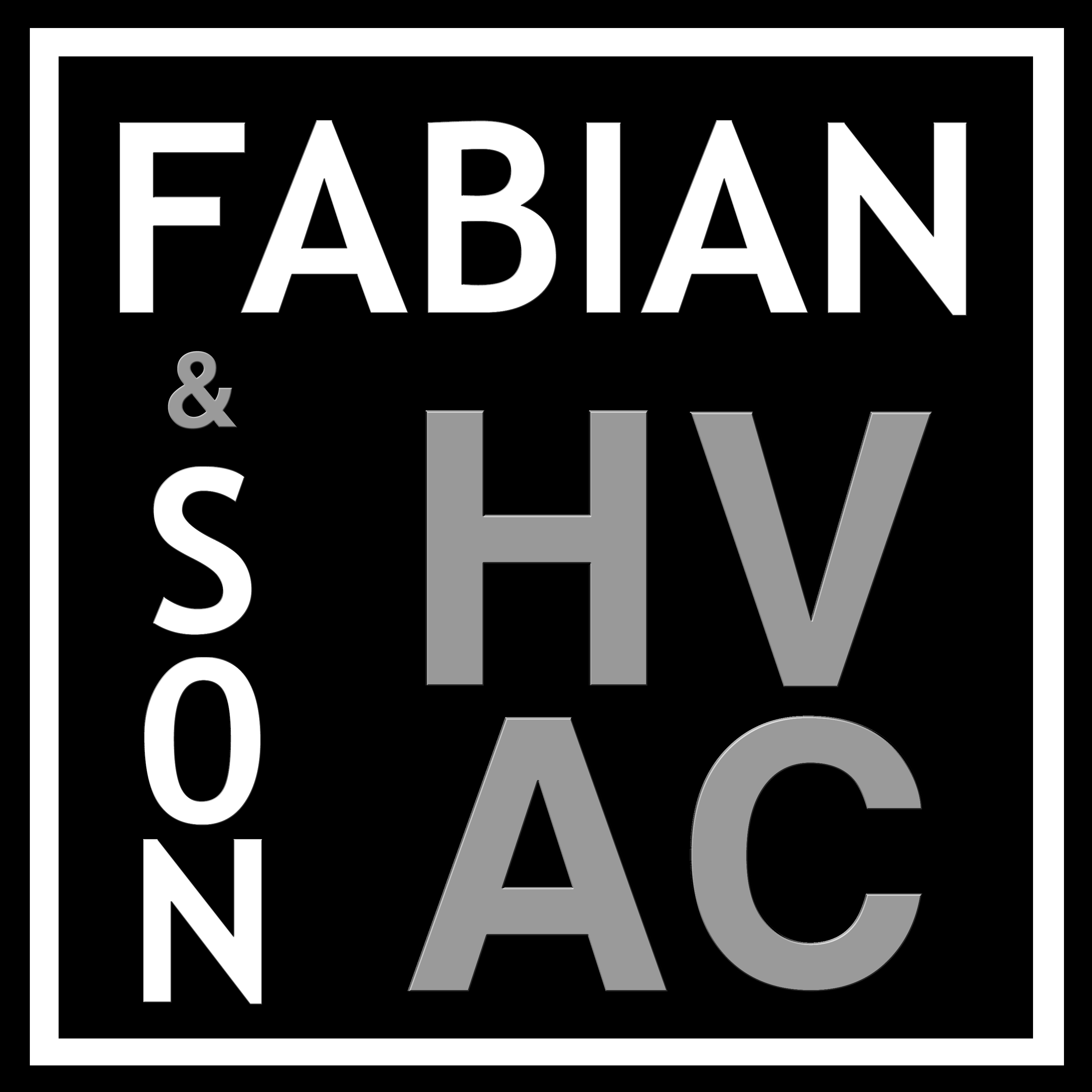 FABIAN & SON HEATING AND COOLING logo