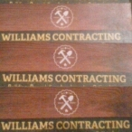 Williams Contracting logo