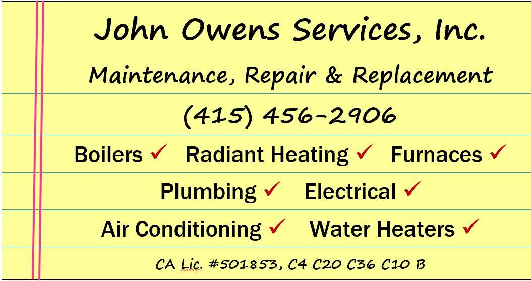 John Owens Services Inc. logo