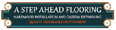 A Step Ahead Flooring logo