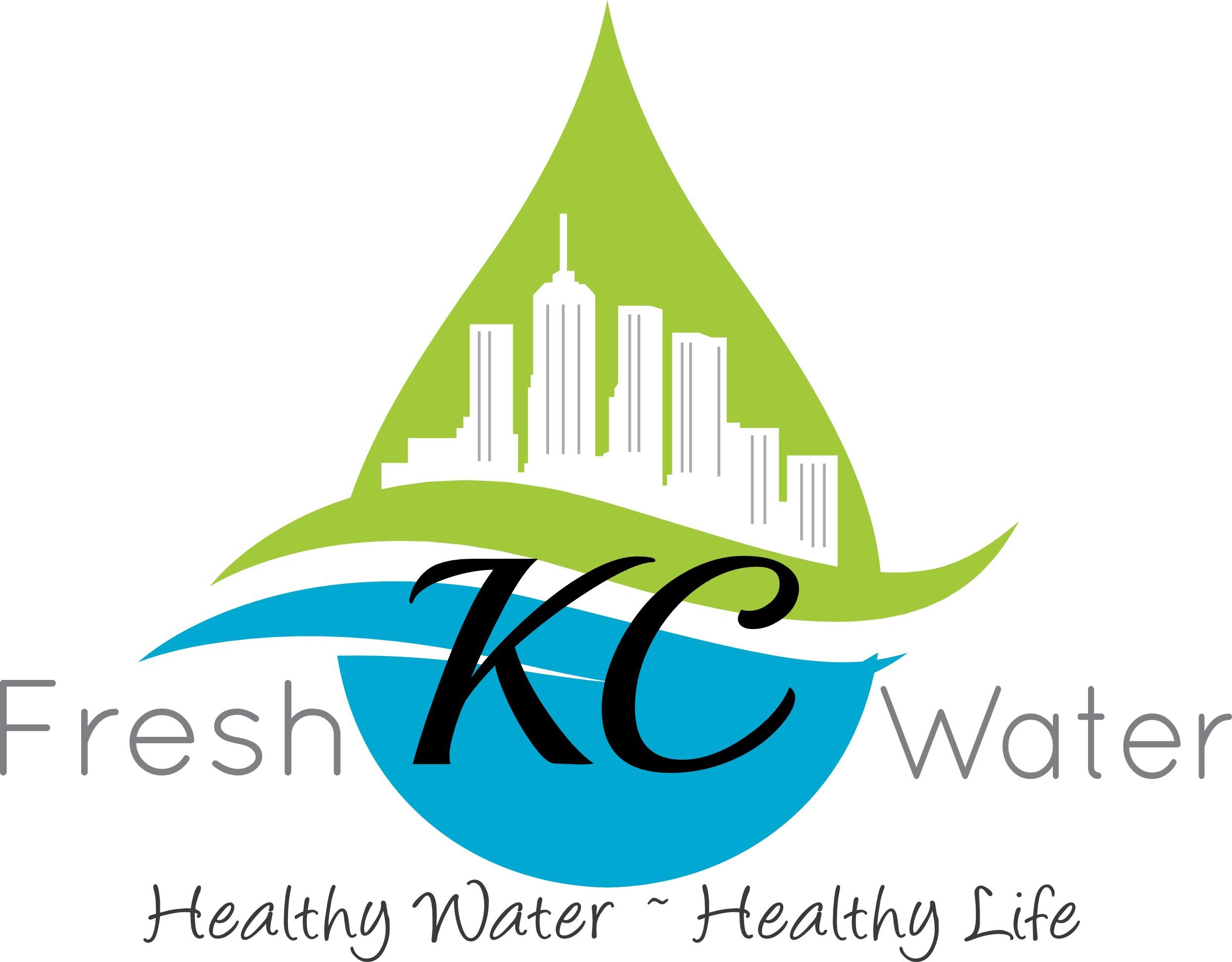 FRESH KC WATER logo