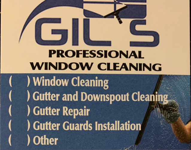 Gil's Window Cleaning Corp logo
