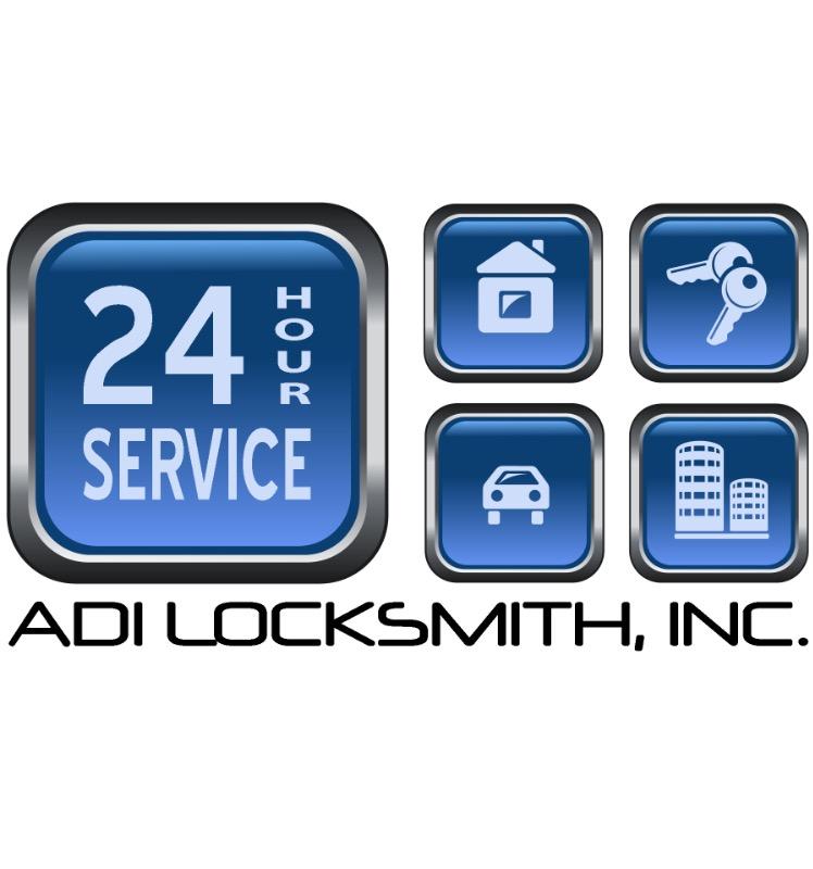 ADI Locksmith & Doors Inc. logo