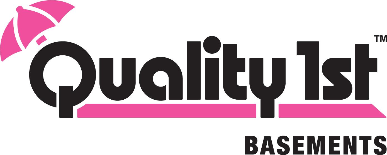 Quality 1st Basements logo