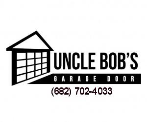 Uncle Bob's Garage Door Service logo