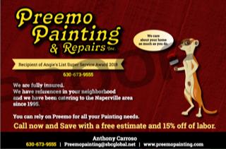 Preemo Painting & Repairs Inc. logo
