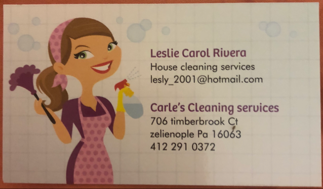 Carle���s Cleaning Service logo