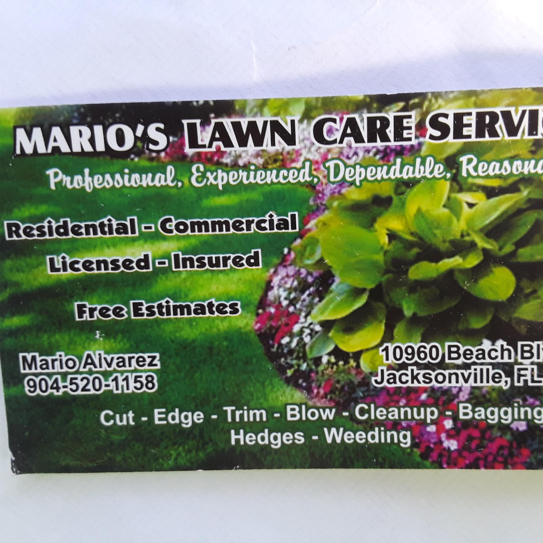 Mario's Landscaping logo