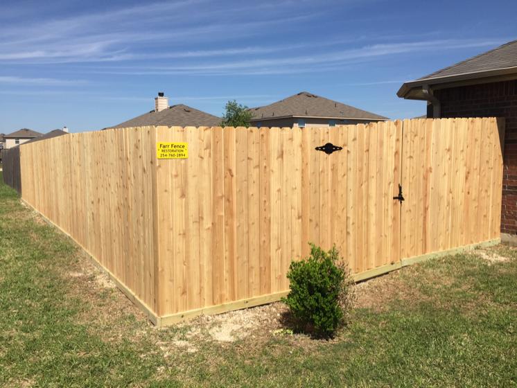 Farr Fence Restoration logo