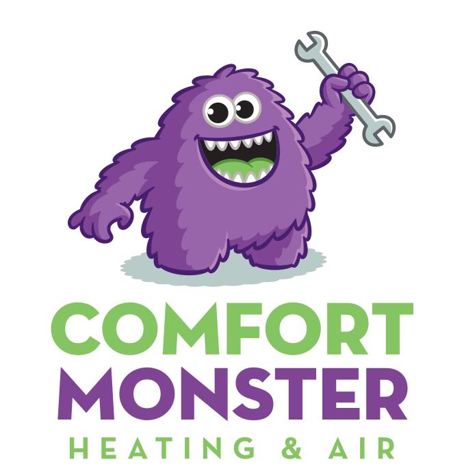 Comfort Monster Heating & Air / G&M  logo