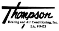 Thompson Heating and Air Conditioning Inc logo