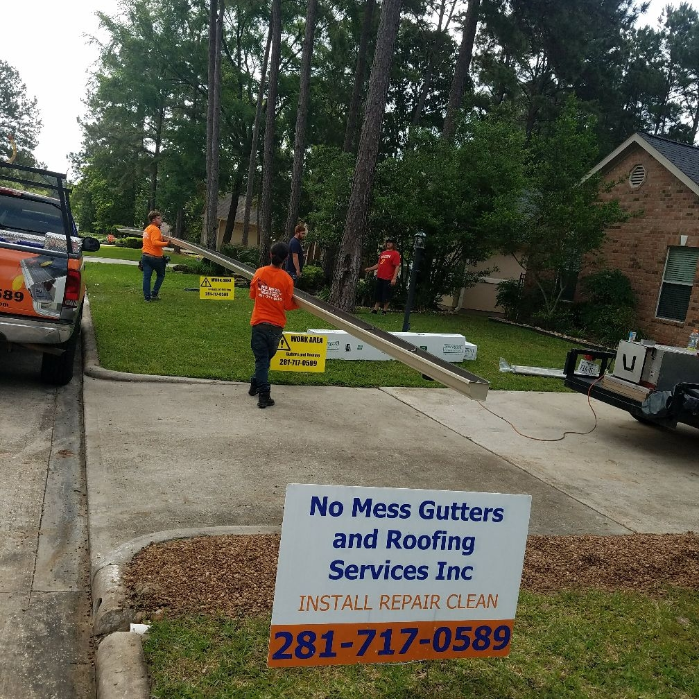 No Mess Gutters And Roofing Services Inc. logo