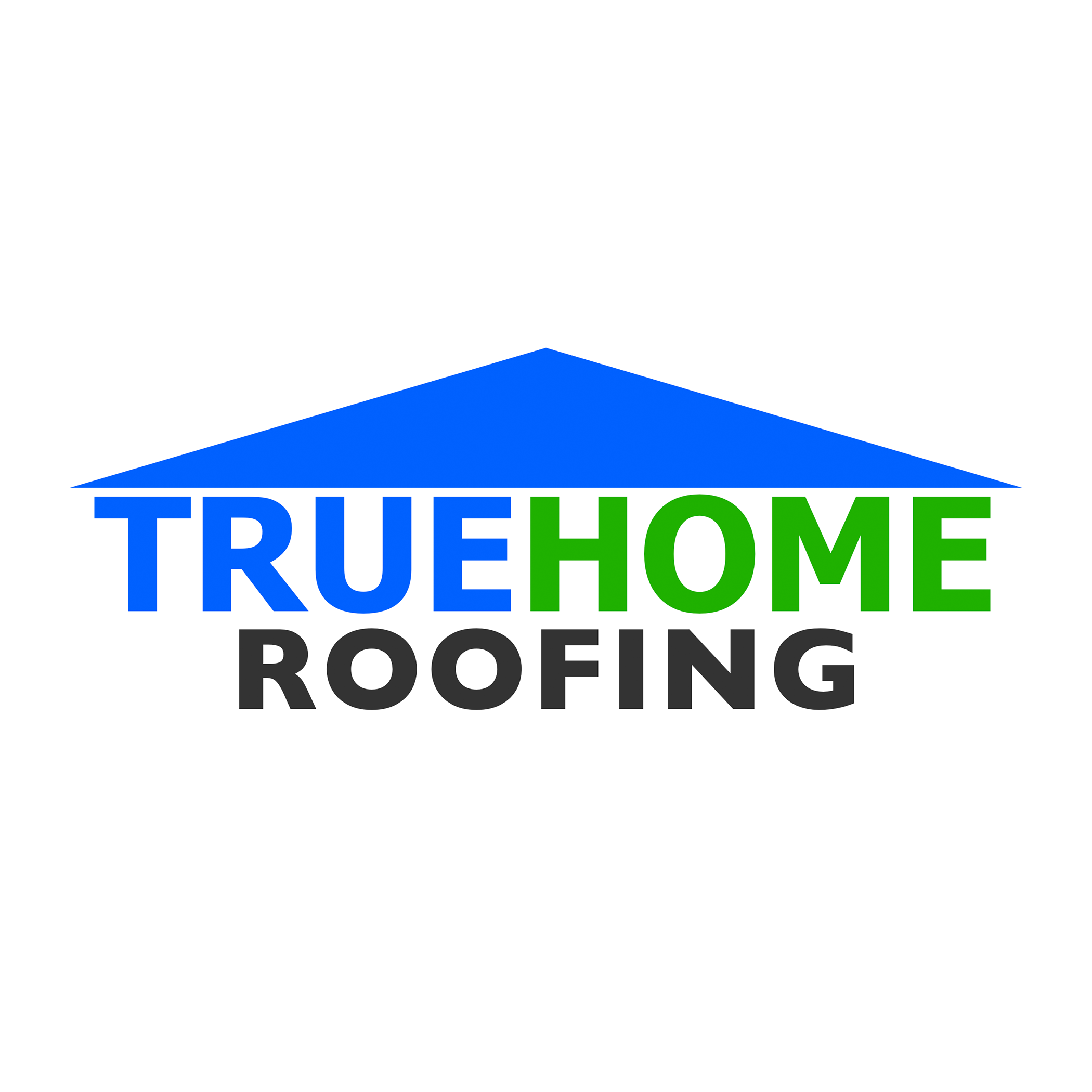 TRUEHOME Roofing Siding Windows logo