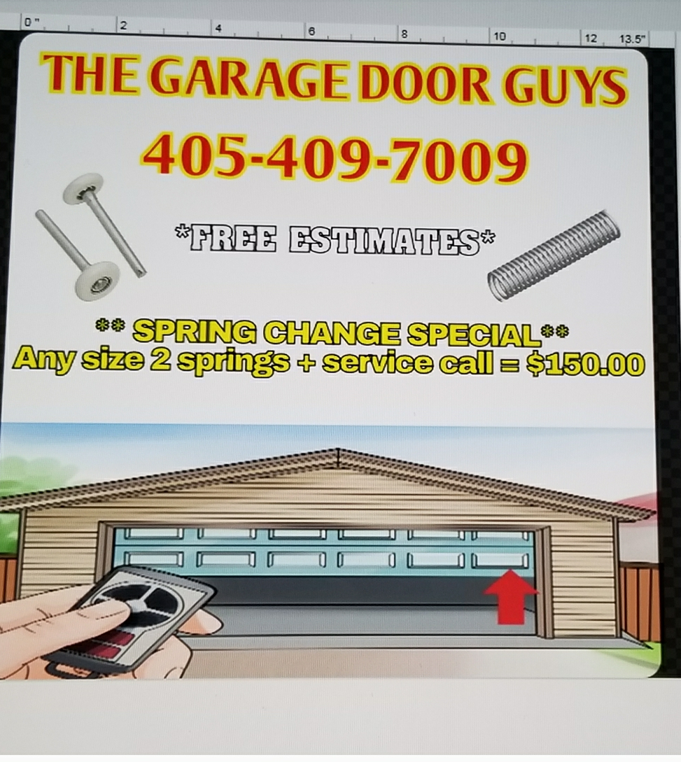The Garage Door Guys logo