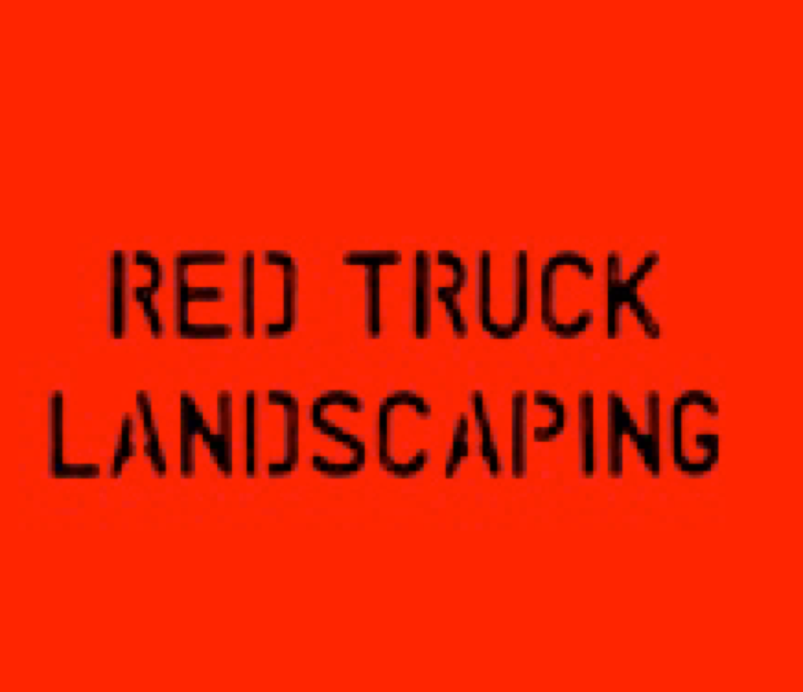 Red Truck Landscaping logo