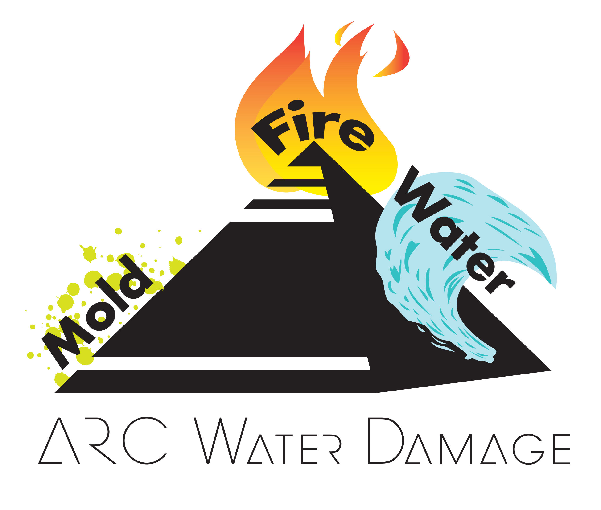 ARC Water Damage logo