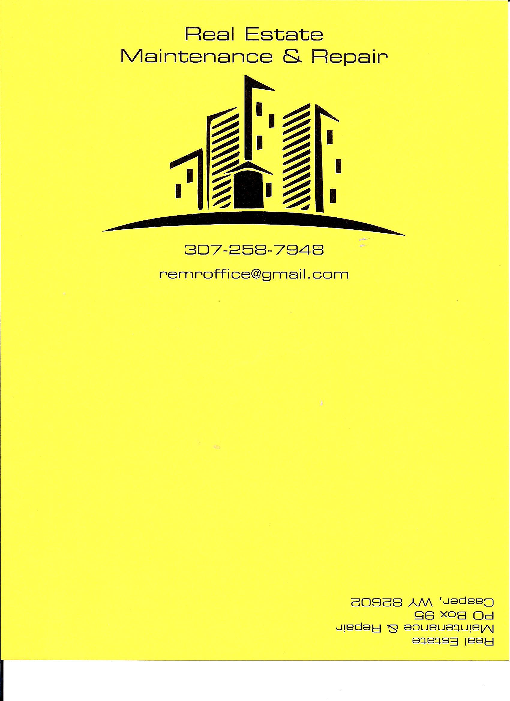 Real Estate Maintenance & Repair logo