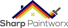 Sharp Paintworx logo