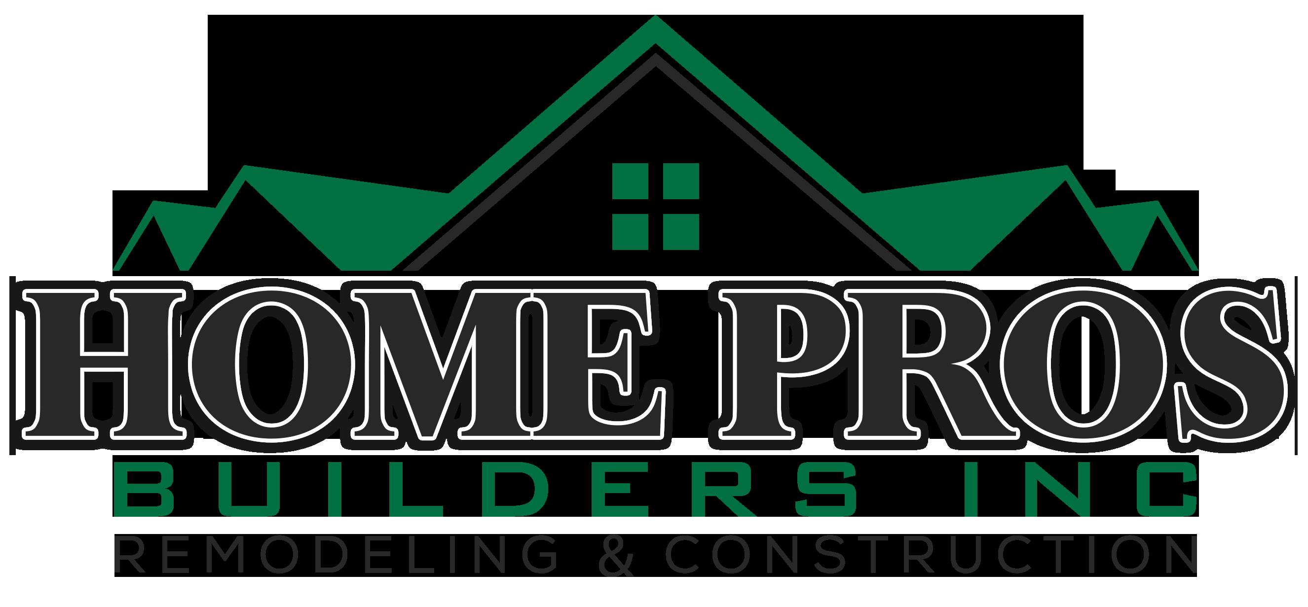 Home Pros Builders inc logo