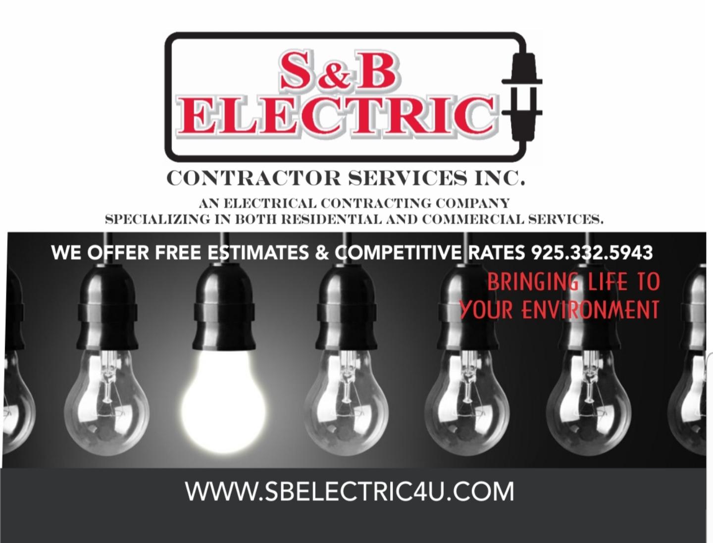 S&B Electric logo