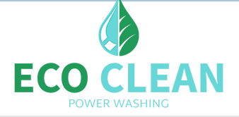 Eco Clean power washing logo