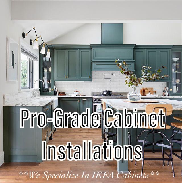 Pro-Grade Cabinet Installations logo