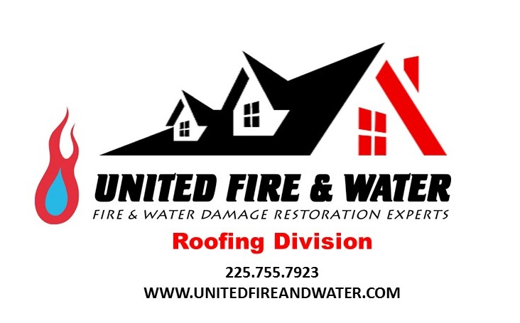 United Fire & Water Roofing  logo