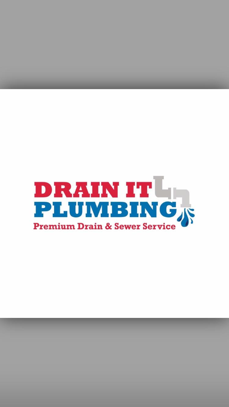 Drain it plumbing logo