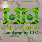 The Vision Landscaping logo